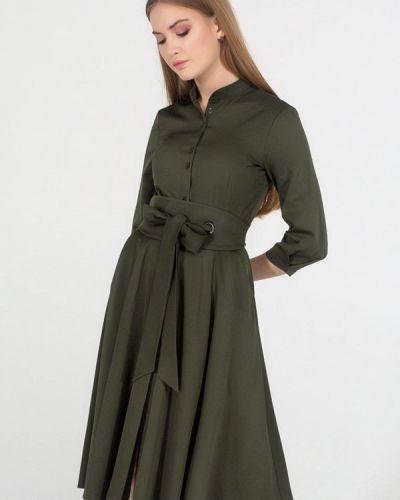 Платье миди - хаки Viravi Wear