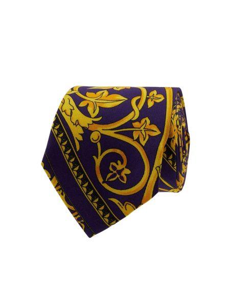 Krawat z jedwabiu - fioletowy Blick
