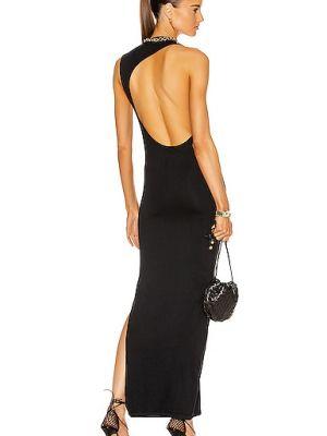 Czarna sukienka z nylonu Simon Miller