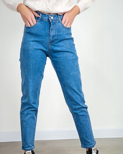 Хлопковые джинсы - голубые Denim