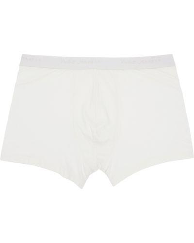 Figi - białe Nudie Jeans