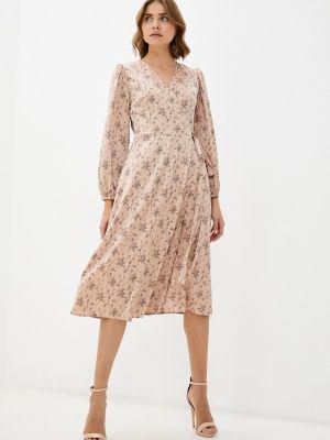 Платье с запахом - бежевое Imocean