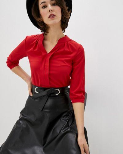 С рукавами красная блузка Am One