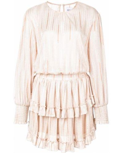 Платье мини розовое макси Misa Los Angeles
