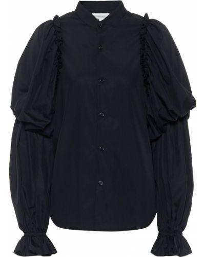 Czarna bluzka bawełniana Noir Kei Ninomiya
