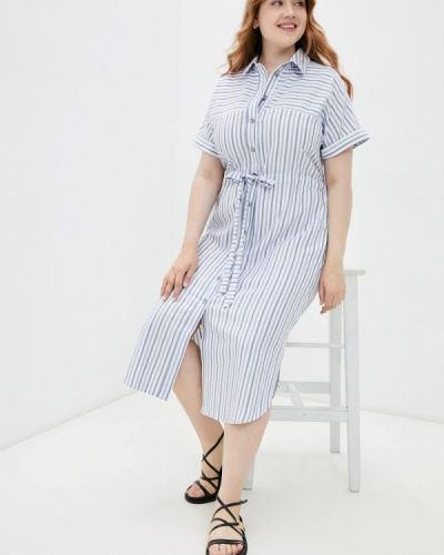 Белое платье рубашка Mankato