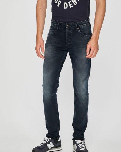 Прямые джинсы на пуговицах эластичные Pepe Jeans