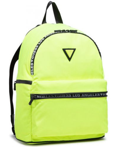 Żółty sport plecak Guess