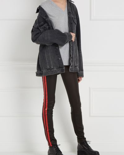 Спортивные брюки на резинке с лампасами Haider Ackermann