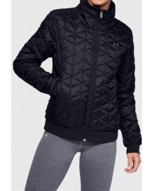 Спортивная куртка весенняя черная Under Armour