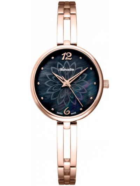 Różowy złoty zegarek Adriatica