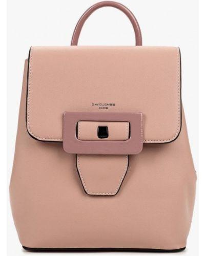 Рюкзак городской розовый David Jones