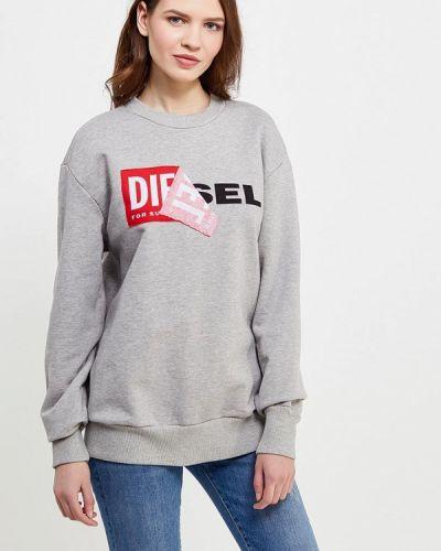 Серый свитшот Diesel