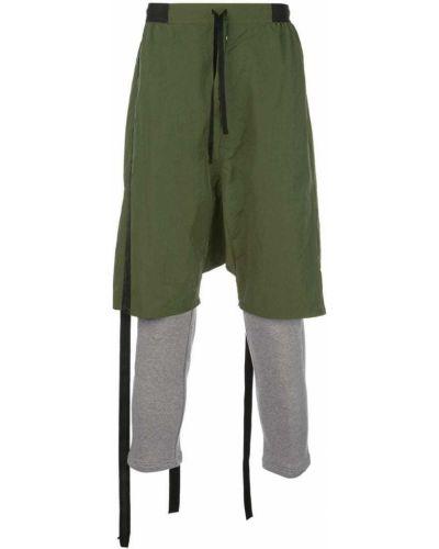 Спортивные брюки с карманами зеленый Unravel Project