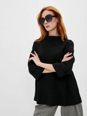 Черная футболка осенняя Elena Miro