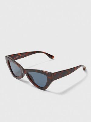 Коричневые солнцезащитные очки Stradivarius