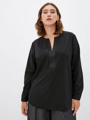 Черная весенняя блузка Balsako