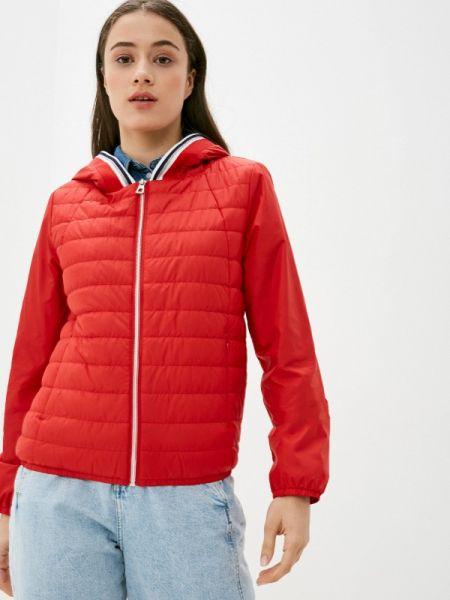 Теплая красная утепленная куртка Conso Wear