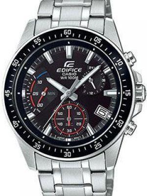 Черные часы механические Casio
