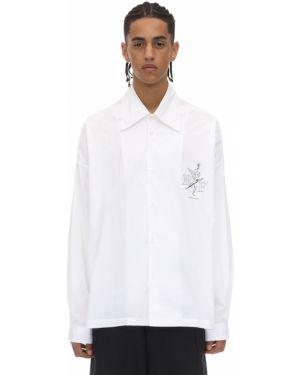 Klasyczna biała klasyczna koszula bawełniana Premier Amour
