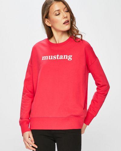 Кофта с капюшоном с принтом Mustang