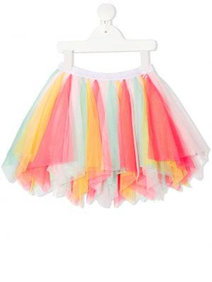 Różowa spódnica mini tiulowa Billieblush