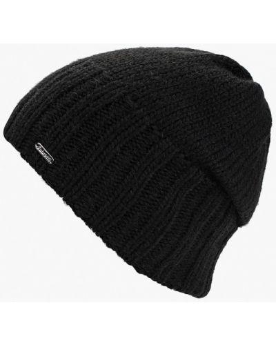 Черная шапка осенняя Fabretti