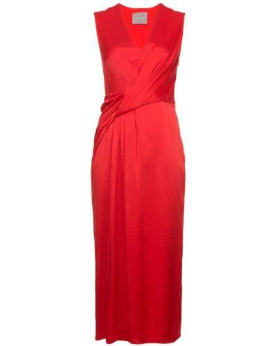 Платье с V-образным вырезом с запахом Jason Wu