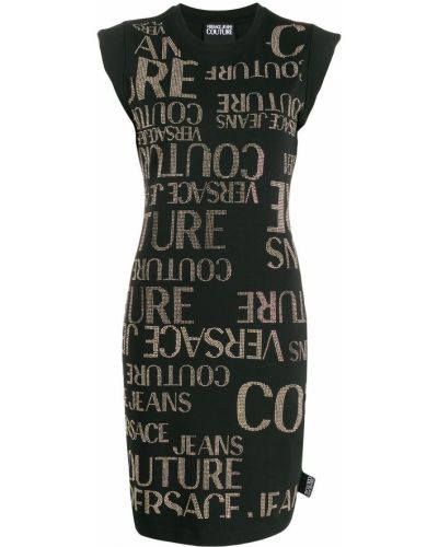 Джинсовое платье платье-рубашка платье-майка Versace Jeans