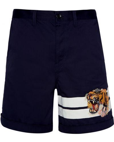 Шорты-чиносы с карманами с отворотом Gucci