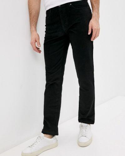 Прямые черные брюки Angelo Bonetti