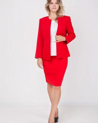 Красный костюм Zubrytskaya