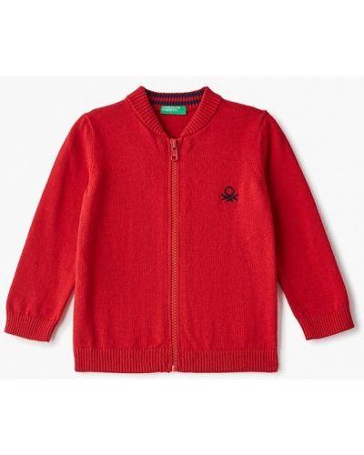 Кардиган красный United Colors Of Benetton