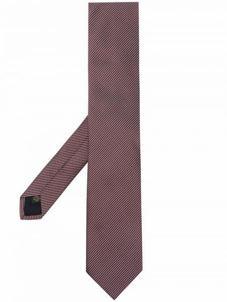 Krawat z jedwabiu - biały Corneliani