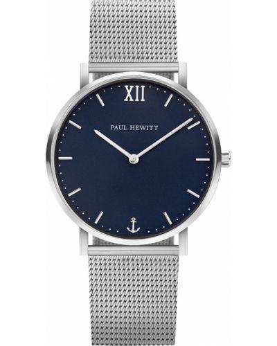 Часы водонепроницаемые немецкий синий Paul Hewitt
