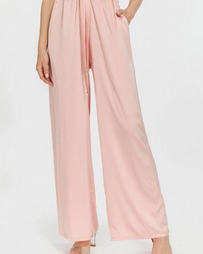 Розовые брюки осенние Clever Woman Studio