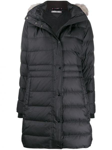 Пальто с капюшоном на молнии пальто Tommy Hilfiger