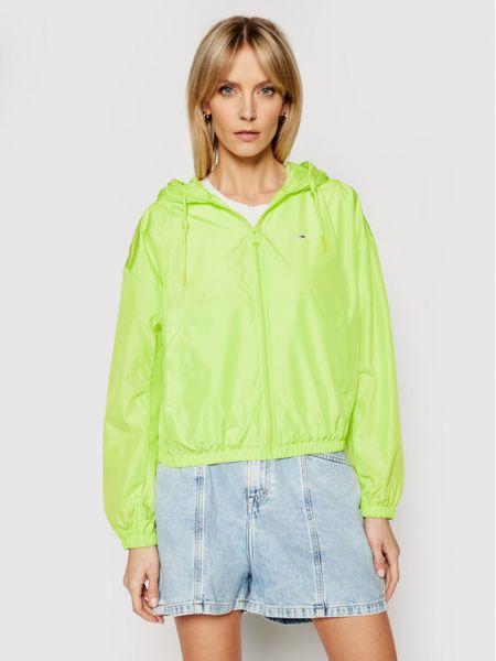 Wiatrówka - zielona Tommy Jeans