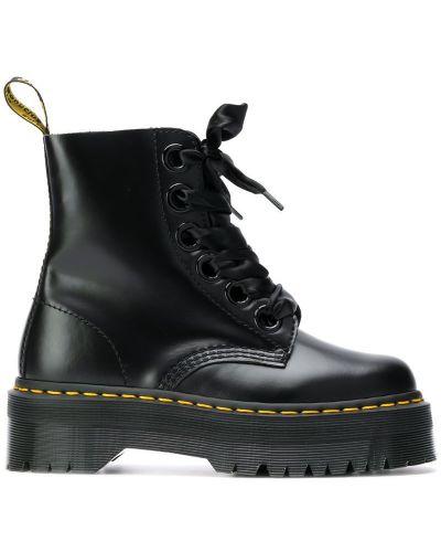 Ботинки черные черные Dr. Martens