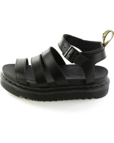 Sandały, czarny Dr. Martens