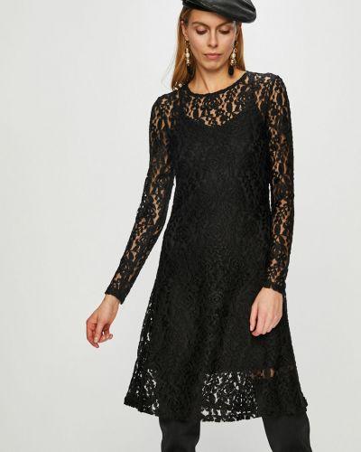 Платье мини с длинными рукавами на молнии Vero Moda