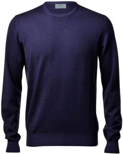 Sweter wełniany - niebieski Gran Sasso