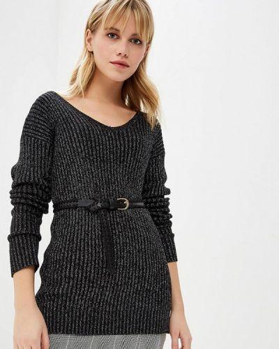 Пуловер - черный Nice & Chic