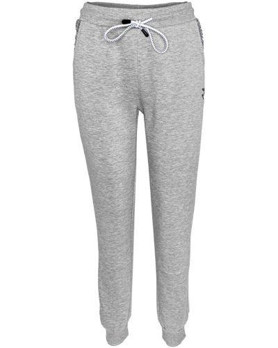 Флисовые спортивные брюки - серые Radder