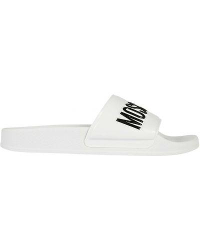 Sandały - białe Moschino