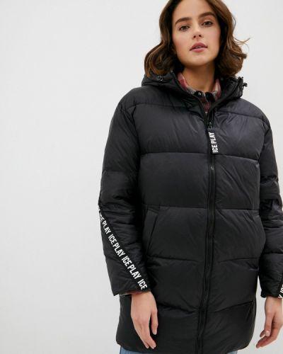 Черная куртка Ice Play