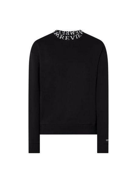 Bawełna bawełna czarny bluzka ze stójką Review