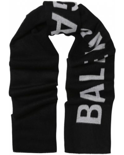 Шарф шерстяной с логотипом Balenciaga