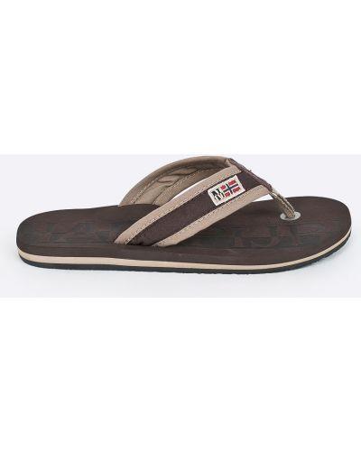 Коричневые сандалии Napapijri