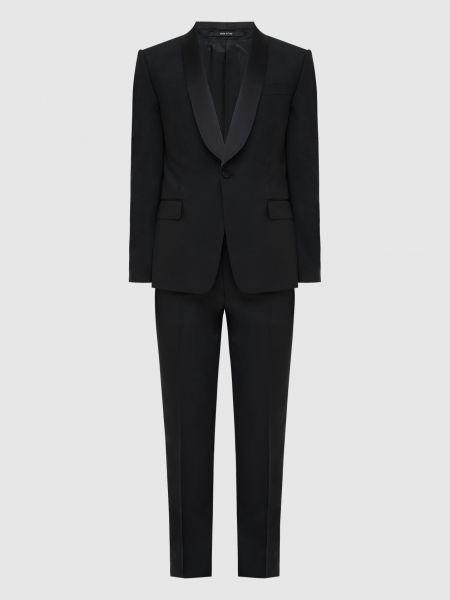 Костюмный черный костюм Gucci